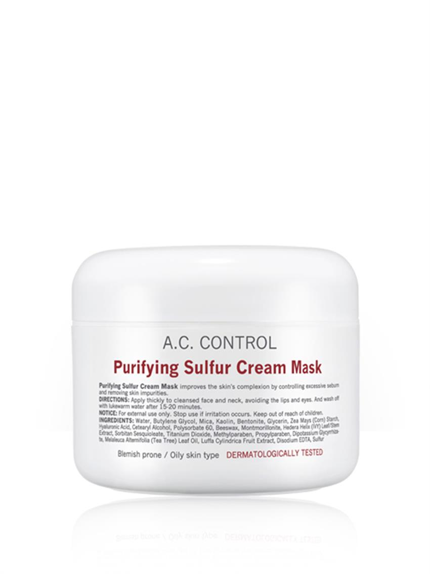 Purifying Sulfur Cream Mask